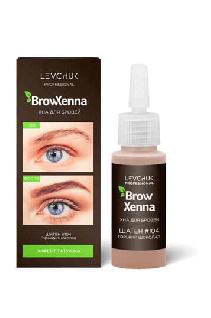 BrowHenna хна для бровей флакон #104 Горький шоколад (BrowXenna®)