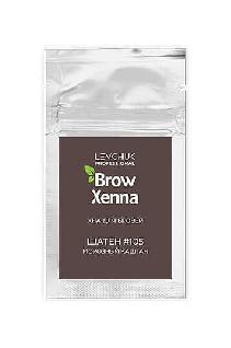 Хна для бровей в саше #105 морозный каштан BrowXenna®