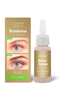 BrowHenna хна для бровей флакон #201 Жемчужный (BrowXenna®)