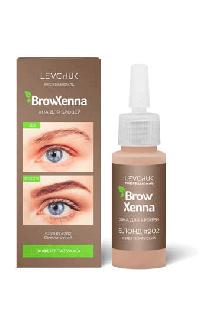 BrowHenna хна для бровей флакон #202 Светло-русый (BrowXenna®)