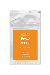Хна для бровей в саше #210 янтарный концентрат BrowXenna®