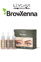 BrowHenna хна для бровей набор блонд (BrowXenna®)
